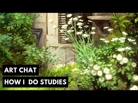 Timelapse & Art Chat: How I do Studies
