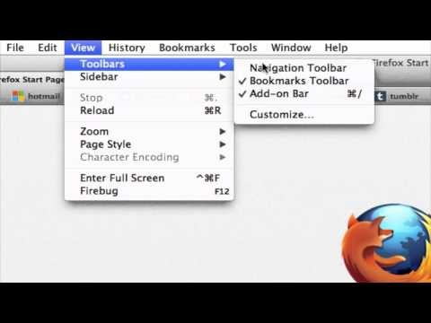 How to Add the Address Bar to Mozilla Firefox : Firefox and More