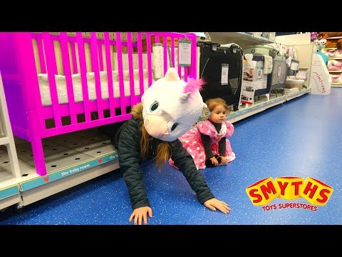 PRINCESS vs UNICORN HIDE AND SEEK in Smyths Toy Store
