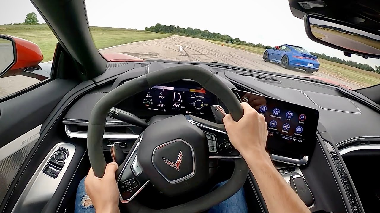 2021 Chevrolet C8 Corvette Z51 Package (Track Alignment) - Performance Driving Impressions