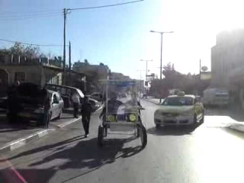 Solar Bicycle Made In Palestine Road Test 3