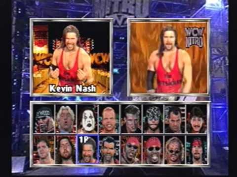 Wcw Nitro Wrestler Rants Playstation 1 Youtube
