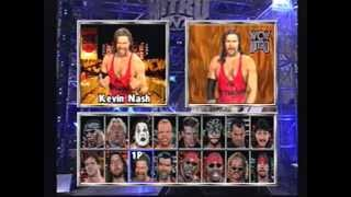 WCW NITRO Wrestler rants (PLAYSTATION 1)