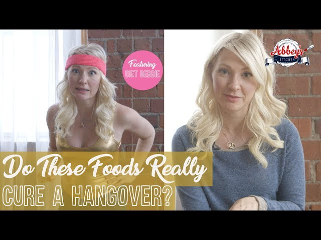 Do These Foods REALLY Cure a Hangover? | Hangover Cure 101 | Does a Greasy Meal Cure a Hangover?