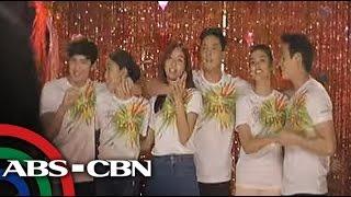 TV Patrol: JaDine, KathNiel, LizQuen sa ABS-CBN Christmas station ID