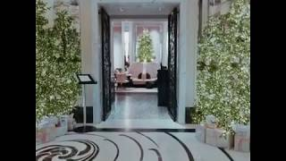 #LanghamChristmas Journey at The Langham, London