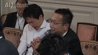 二転三転していく、NHK経営委員会側の発言「ホントに議事録はないんです」から「議事録は作っています」「非公開です」~かんぽNHK問題 野党合同ヒアリング2019.10.3