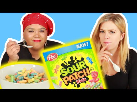 Billy The Kid - Sour Patch Kids... Cereal?! You Read That Right