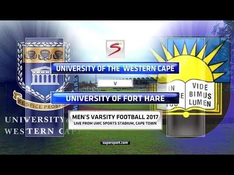 Varsity Football 2017 - University of Western Cape vs University of Fort Hare