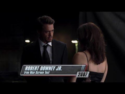 Пробы Роберта Дауни-мл. на роль Тони Старка в фильм «Железный Человек»