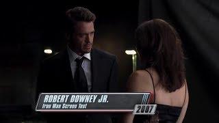 Пробы Роберта Дауни-младшего на роль Тони Старка/Железного Человека в фильм «Железный Человек»