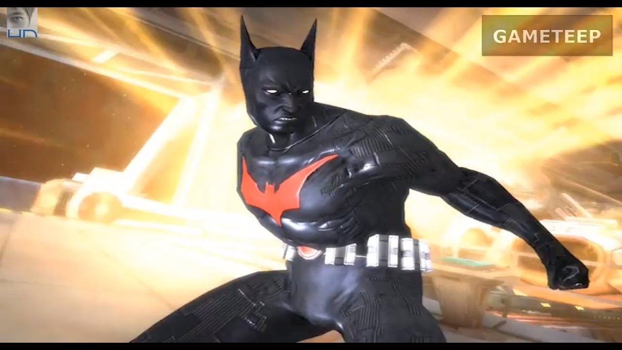 Injustice: Gods Among Us - Batman Beyond Super Attack ...