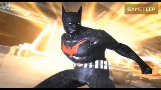 Injustice: Gods Among Us - Batman Beyond Super Attack Moves [iPad] [REMASTERED]
