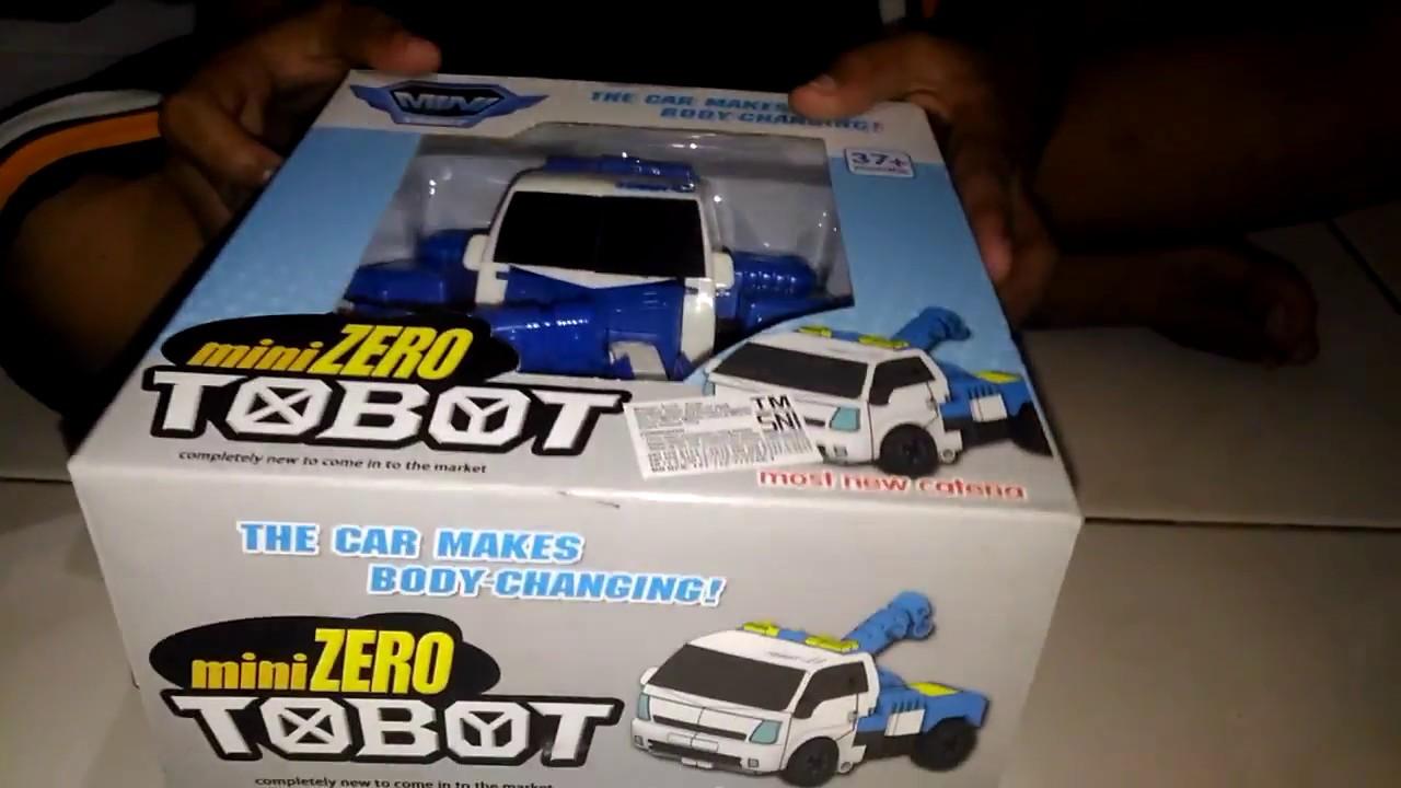 Mainan Tobot Mini Zero Youtube Maianan Robot Bisa Jadi Mobil Transform