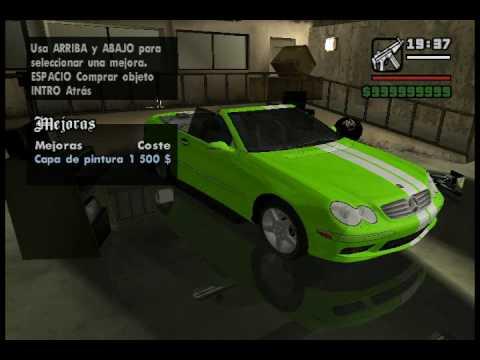 Gta San Andreas Tuning Cars Mod Part 2