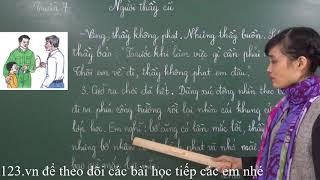 Tiếng Việt lớp 2 [Tập đọc] - Người thầy cũ