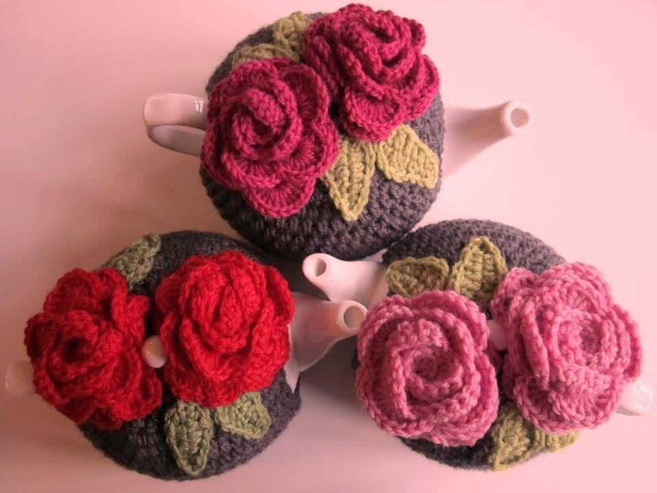 CROCHET TEA COZY - YouTube