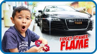 FIDGET SPINNER Toy Hunt at Shopping Mall #13, I Got Free Flame & Harry Potter Spinners – TigerBox HD
