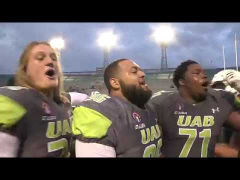 UAB FB vs LA Tech 10/7/17 - UAB Highlights