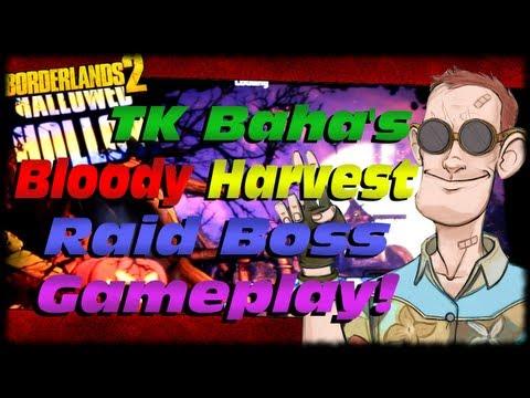 Borderlands 2 New TK Baha Bloody Harvest DLC Raid Boss Gameplay From Pax Prime 2013! PPM13  