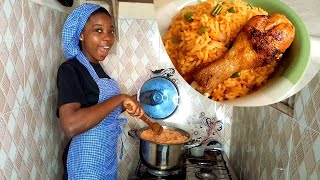 Cook With Me Vlog | Jollof Rice