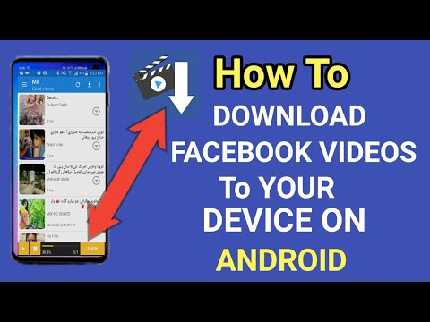 How To Download Facebook Videos On Android Devices Without Any App Software Directly The Gallery?