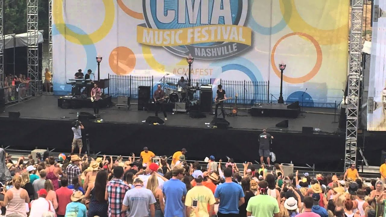 David Nail - Let It Rain - Nashville, TN CMA Fest 6/8/14 - YouTube
