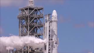SpaceX's Falcon 9 sends CRS-12 Dragon into space