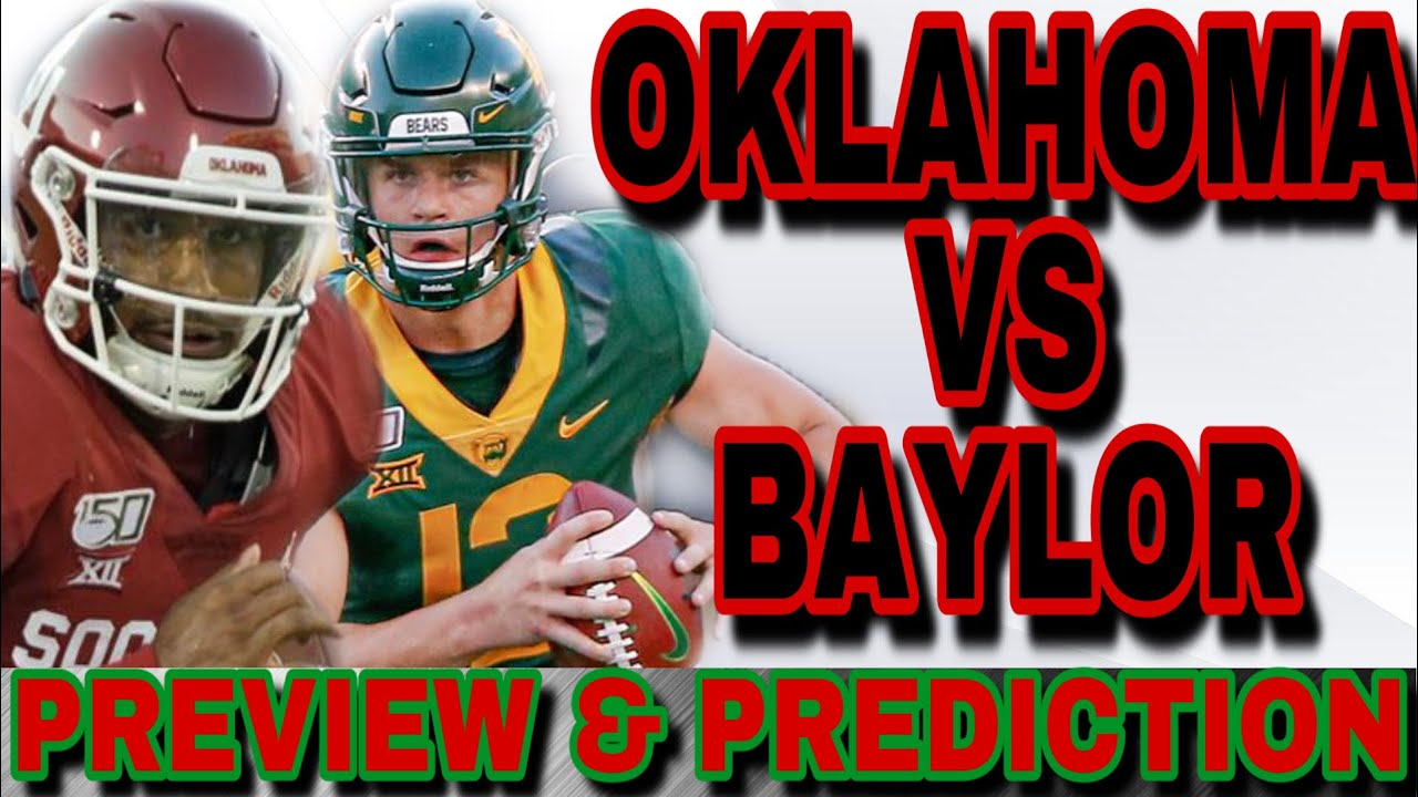 What channel is Oklahoma vs. Baylor on today? Time, schedule for ...