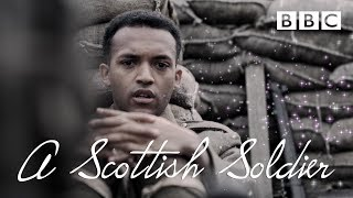 Arthur sees his first dead body in the trenches - A Scottish Soldier - BBC
