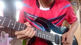 ฮำฮอน มอส รัศมี ft สิลิพอนสีปะเสิด cover guitar by ฟลุ๊ค'จัง