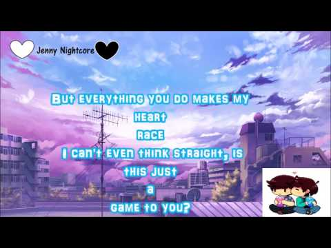 NIGHTCORE Not Another Song About Love +Lyrics