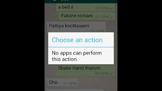 "How to Fix ""Choose an Action. No apps can perform this action""  in 3 simple steps"