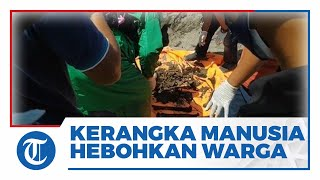 Download Heboh Penemuan Kerangka Manusia Bersila di Pantai Parangkusumo Bantul, Kini Masih Diselidiki Polisi