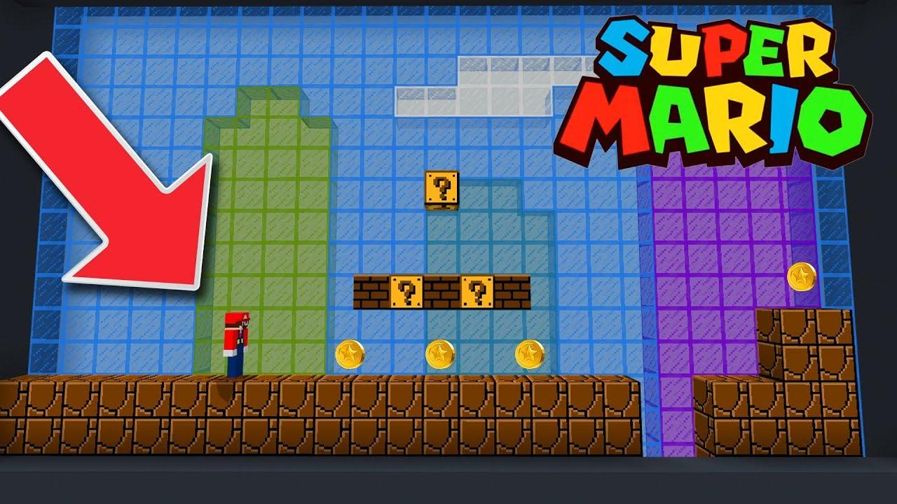 super mario brothers minecraft
