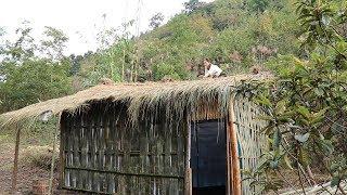 【南方小蓉】姑娘隱居深山  自建叢林屋 過著返璞歸真  淡泊閑適的田園生活