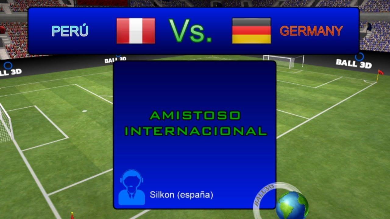 Deutschland Peru Live