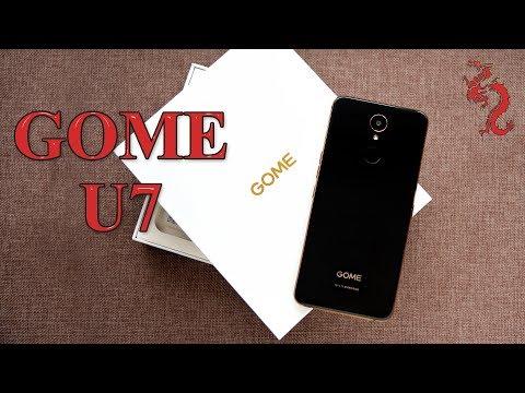 ВЗРОСЛЫЙ обзор GOME U7 //Шикарный аппарат с NFC и кучей косяков