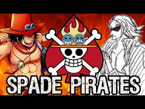 The Spade Pirates: Ace's Past Crew & Story of The Mera Mera No Mi
