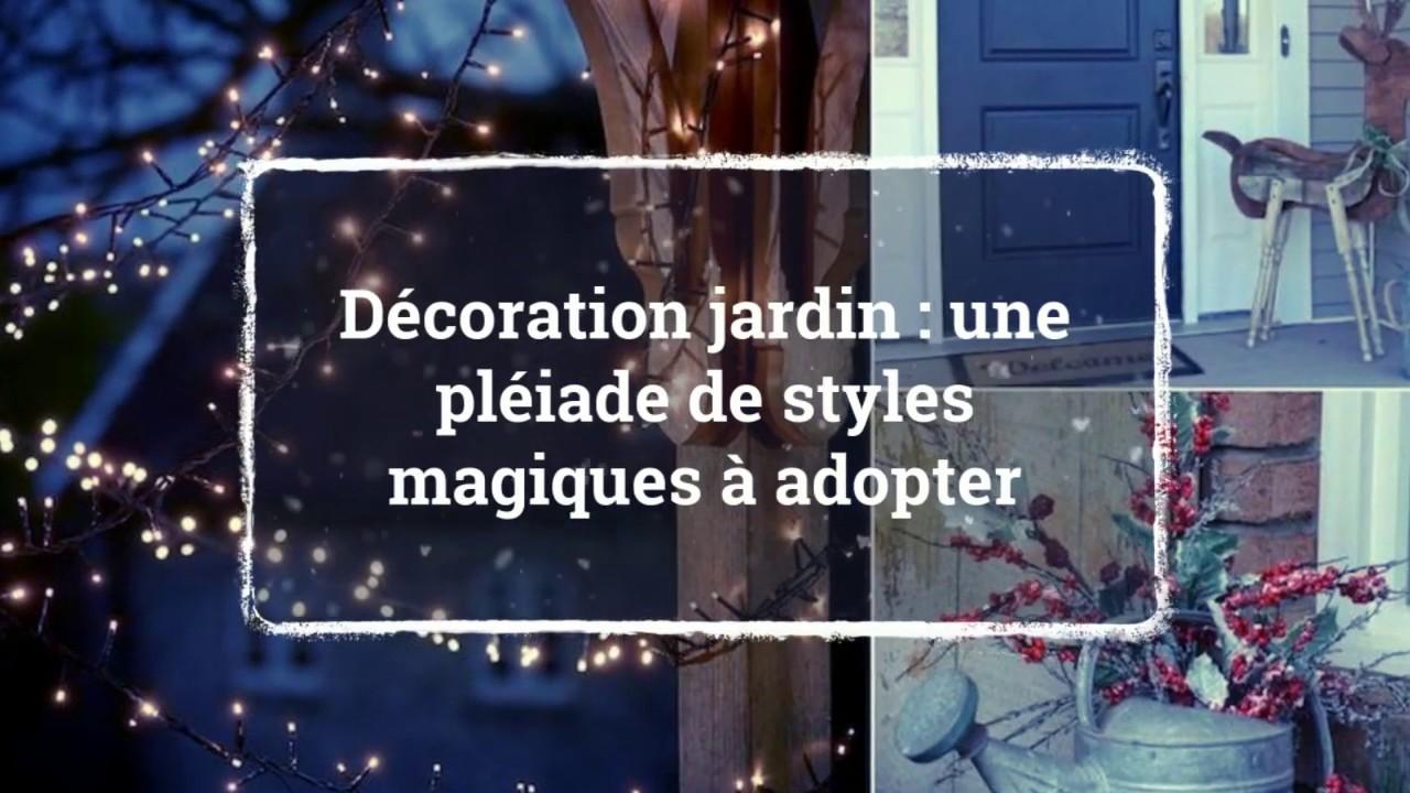 Deco De Noel Dans Le Jardin décoration jardin pour noël, la magie sera aussi à l'extérieur !