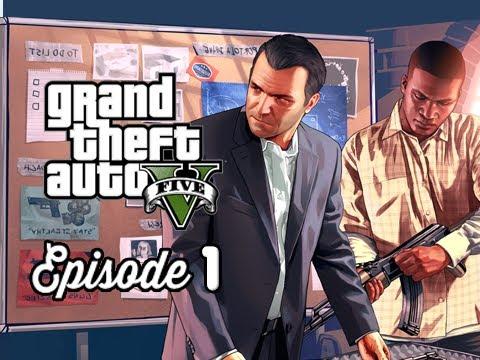 Grand Theft Auto 5 Walkthrough Part 1 - Prologue Michael & Franklin ( GTAV Gameplay Commentary )