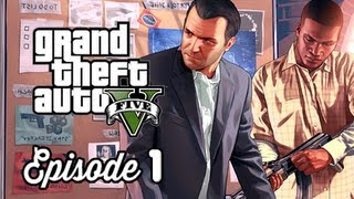 Grand Theft Auto 5 Walkthrough Part 1 - Prologue Michael & Franklin ( GTAV Gameplay Commentary )
