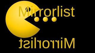 Tune pacman mirrorlist (Arch Linux)
