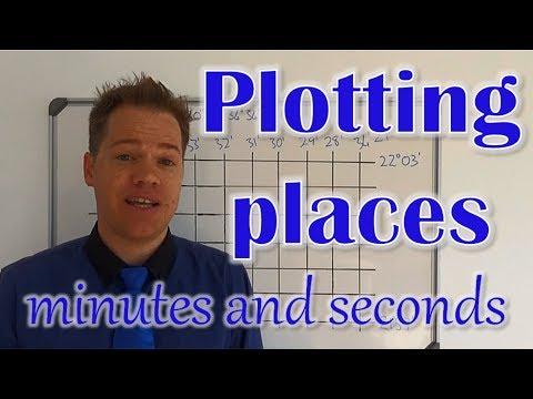 Mapwork Plotting Places Latitude Longitude