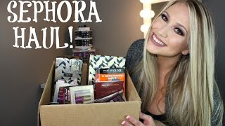 WHATS NEW AT SEPHORA HOLIDAY HAUL | FRIENDS AND FAMILY SEPHORA HAUL & GIVEAWAY SNEAKPEEK