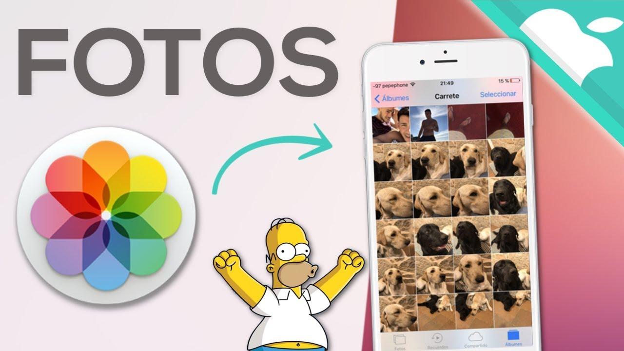 pasar fotos del iphone 5s al ordenador