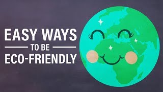 Easy Ways to Be Eco-Friendly