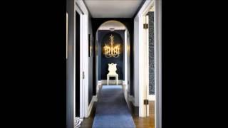 видео Интерьер коридора узкого и длинного