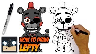 How to Draw Lefty | Five Nights at Freddy's