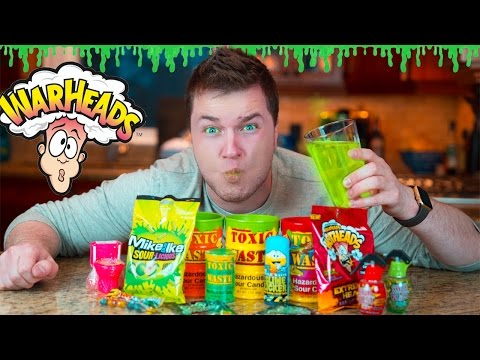 SOUREST DRINK IN THE WORLD CHALLENGE!! (EXTREMELY DANGEROUS)